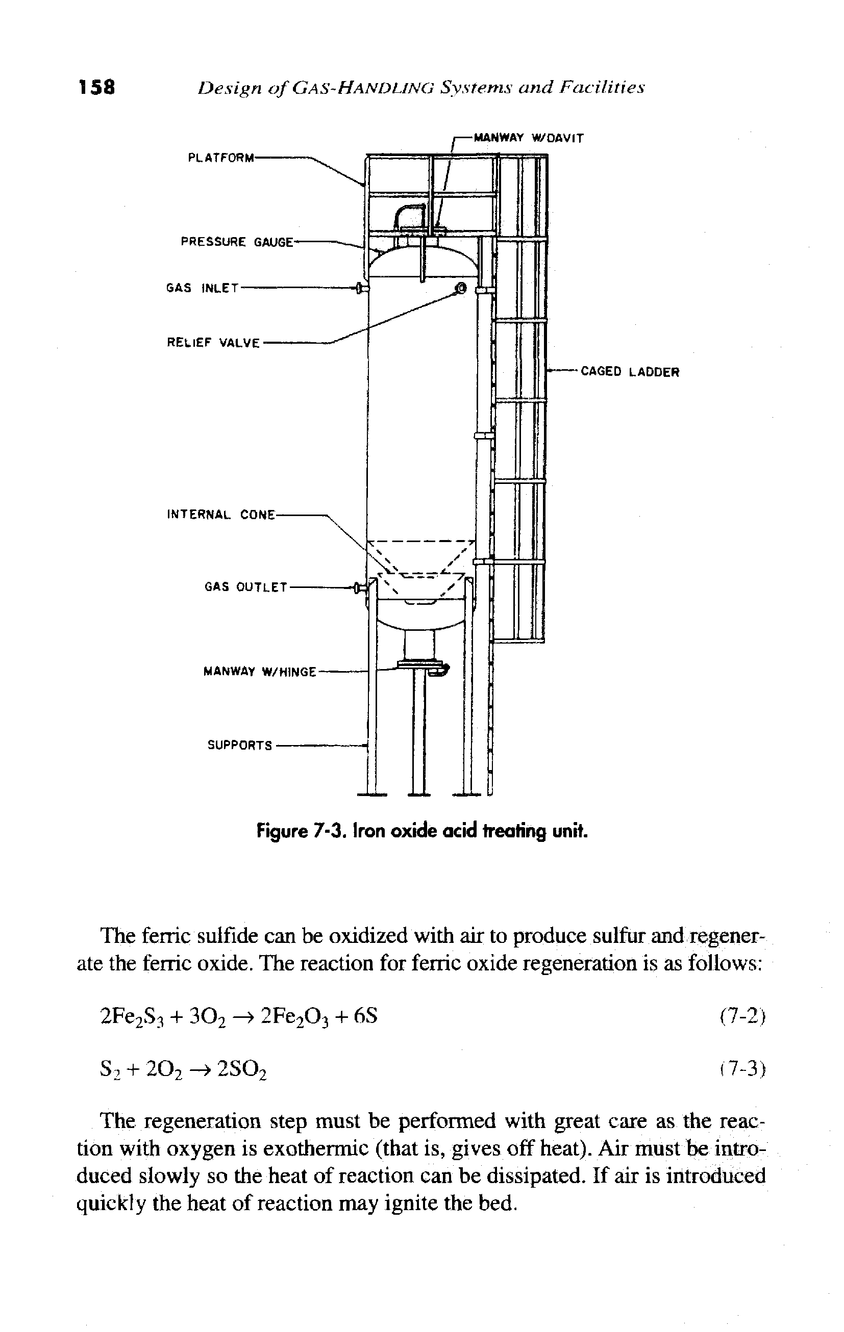 Figure 7-3. Iron oxide acid treating unit.