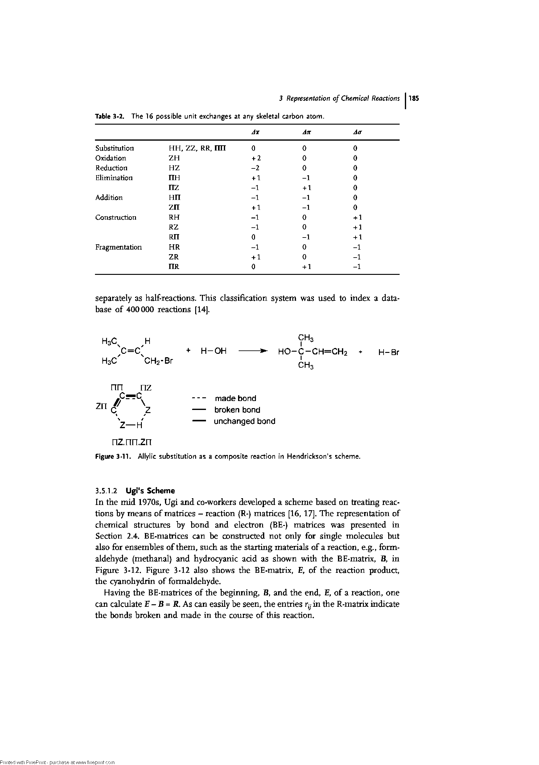 "Figure 3-11. Allylic substitution as a <a href=""/info/composite_reaction"">composite reaction</a> in Hendrickson s scheme."